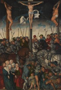 Lucas Cranach the Elder, The Crucifixion, 1538, Oil on panel, Art Institute of Chicago