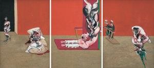 Francis Bacon, Crucifixion, 1965