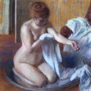 Woman in a Tub Femme au tub