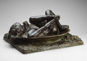 Edgar Degas French, 1834–1917 The Tub, modeled 1889 (cast 1919/21)