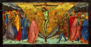 Taddeo di Bartolo, The Crucifixion, 1401/04, Tempera on panel, Art Institute of Chicago
