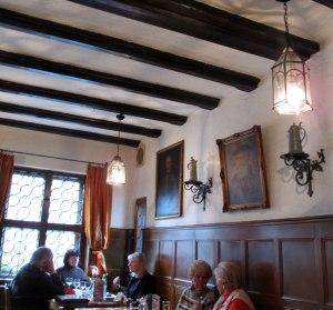 Bohm's Herrenkeller - The dining room