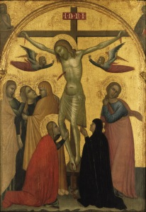 Francescuccio Ghissi, The Crucifixion, c. 1370, Tempera on panel