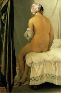 Ingres, The bather of Valpincon, 1808, Louvre, Paris