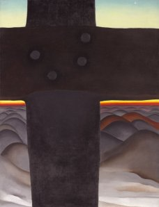 Georgia O'Keefe, Black Cross, New Mexico, 1929, Oil on canvas, Art Institute of Chicago