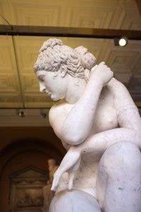 Crouching Venus - detail