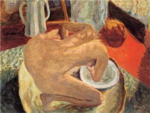 Pierre Bonnard, Woman in a tub, 1912