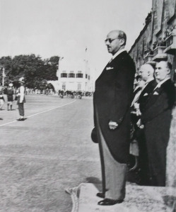 N G Mavris, Governor of the Dodecanese, 1948