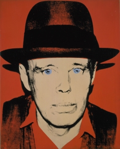 Andy Warhol Portrait of Joseph Beuys
