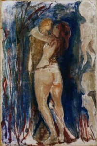 Edward Munch, Death and the Maiden, Oil on Canvas, 1893, Oslo