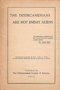 The Dodecanesians are not enemy aliens, 1942