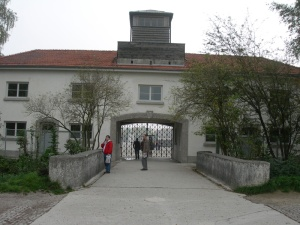 Dachau - The Entrance Gate