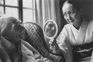 Balthus and his Japanese wife Setsuko