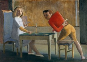 Balthus, Game of Cards, 1948-1950, Thyssen Bornemisza Museum