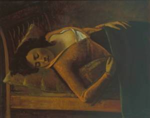 Balthus, Sleeping Girl, 1943, Tate Gallery, London