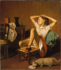 Balthus, Therese Dreaming, 1938, Metropolitan Museum of Art, New York, USA