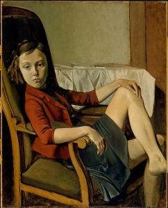 Balthus, Therese, 1938, Metropolitan Museum of Arts, New York, USA