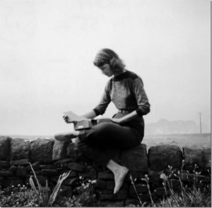 Sylvia Plath in Yorkshire, 1957