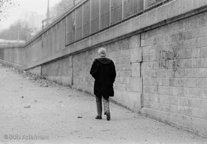 Nobel Prize winning author Samuel Beckett, Paris, 1986