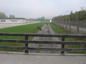 Dachau Concentration Camp - Fences