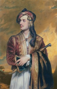Thomas Phillips: Lord Byron in Albanian dress