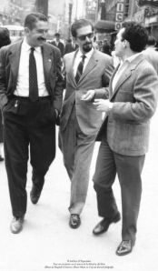 Mutis with writer Garcia Marquez and sculptor Botero