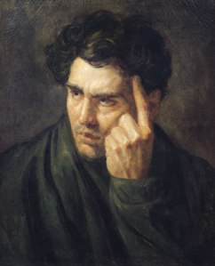 Gericault: Portrait of Lord Byron