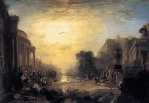 JMW Turner; The Decline of the Carthaginian Empire 1817