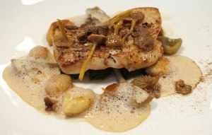Wilks Restaurant, Hake with Artichokes