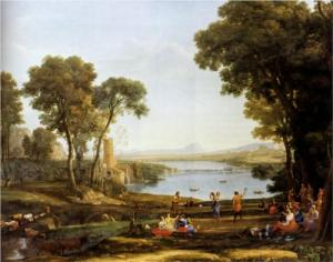 Claude Lorrain; Marriage of Isaac and Rebekah 1648