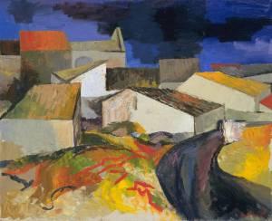 Santa Panagia (Sicily) 1956 by Renato Guttuso 1912-1987