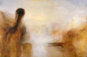 Landscape with Water circa 1840-5 Joseph Mallord William Turner