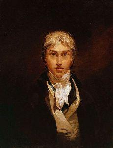 JMW Turner; Self-portrait 1799