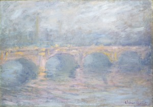 Claude Monet; Waterloo Bridge at Sunset; 1904