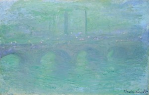 Claude Monet; Waterloo Bridge at Dusk; 1904