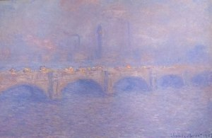 Claude Monet; Waterloo Bridge, Sunlight Effect, 1903; Art Institute of Chicago