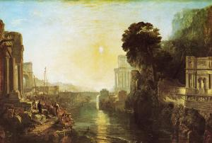 JMW Turner; Dido building Carthage; National Gallery London