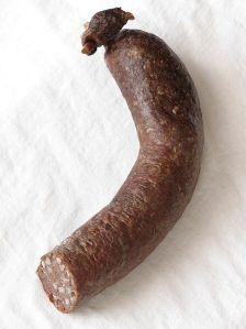 Polish blood sausage, kashanka or kaszanka