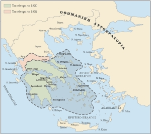 The Greek State in 1830 and 1832