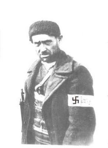Collaborator of the German occupying forces during the second world war in Greece