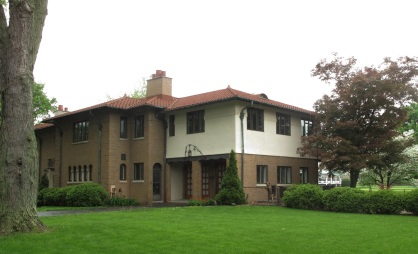 Henry Ulen's home in Indiana, USA