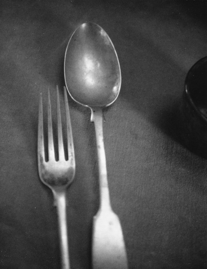 Rimbaud's fork and knife