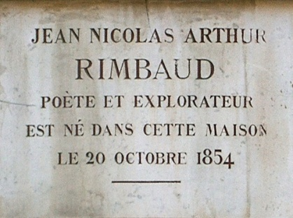 The house where Rimbaud was born