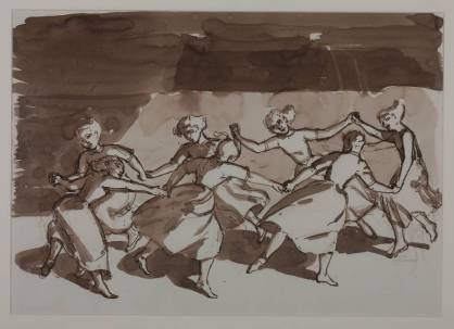 Paula Rego: Drawing for 'The Dance' 1988