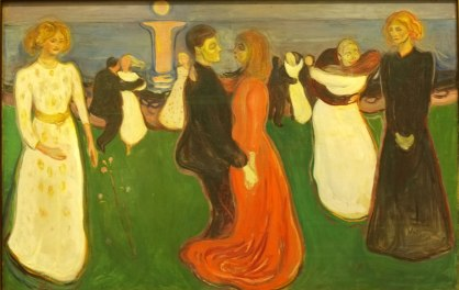 Edvard Munch: Dance of Life, 1899-1900. National Gallery, Oslo.