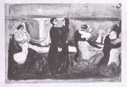 Edvard Munch: Study for the Dance of Life 1899