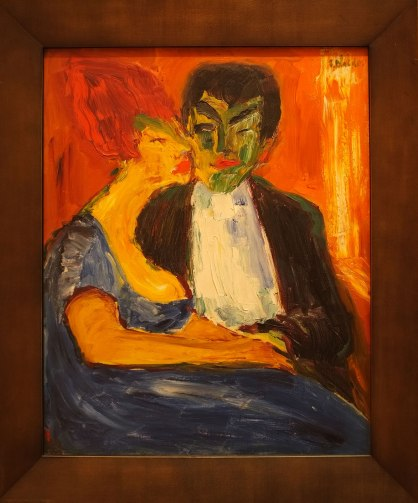 Emil Nolde: At the Night Club, 1911. Oslo National Gallery.