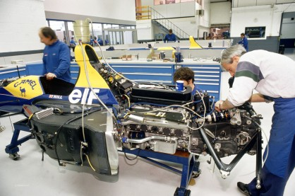 The Williams-Renault  FW15C 1993 car