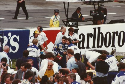 Williams driver Damon Hill