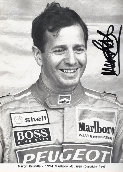 Martin Brundle, McLaren Driver 1994